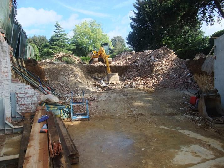 Hove 'Passivhaus' demolished
