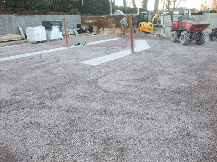 Hove 'Passivhaus' foundations