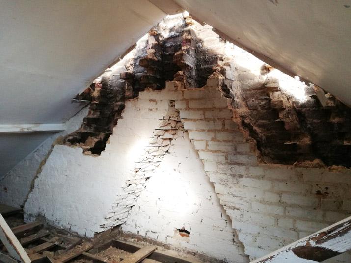 Loft  + case study – chimney