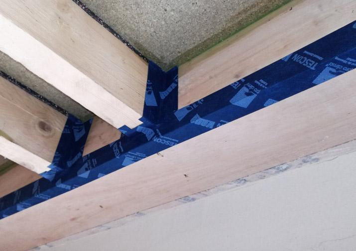 Loft + case study – eaves airtightness