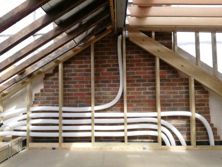 Loft + case study – ventilation ducting