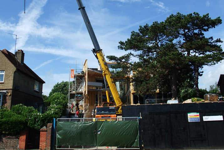 Hove 'Passivhaus' is up!